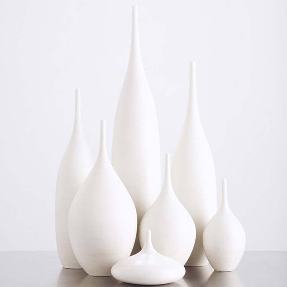 7 modern ceramic pottery bottle vases in organic pure white by 7 modern ceramic pottery bottle vases in organic pure white by sara paloma home decor white pottery and ceramics bud vase tabletop bud vase reviewsmspy