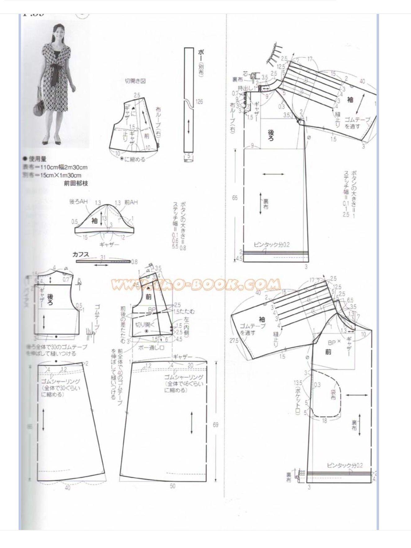Pin de Chung Chiang Tai en 服裝 | Pinterest | Patrones faciles, Moda ...