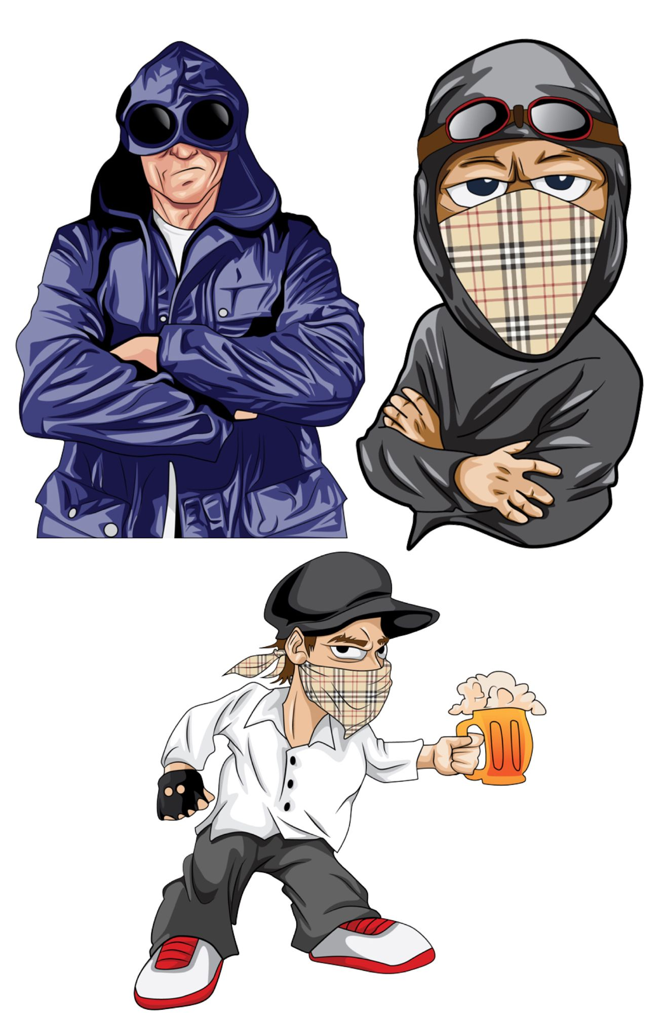 Just done these new vector hooligan hooligans casuals images to use for  designs