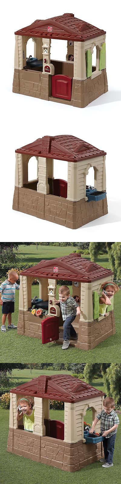 Permanent Playhouses 145995 Step2 Neat And Tidy Ii Playhouse -\u003e BUY