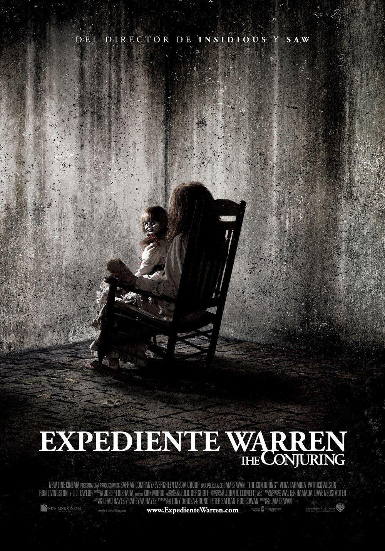 Ver Expediente Warren Online Gratis 2013 Hd Pelicula Completa Espanol The Conjuring Horror Movie Posters Free Movies Online