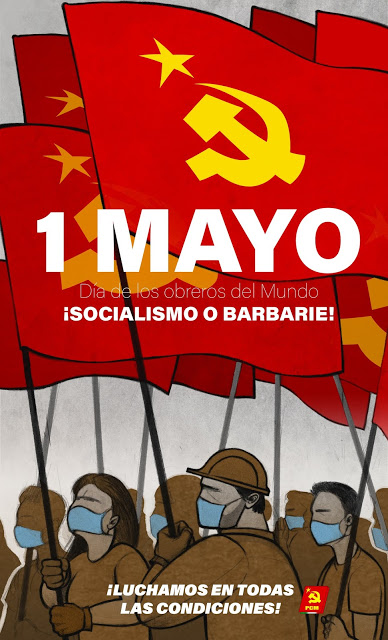 The Left Chapter Proletarian Comrades It Is Necessary To Organize And Fight May Day Statements International Workers Day Workers Day Capitalist Countries