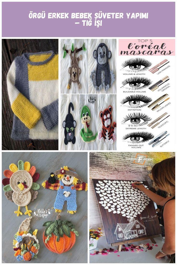 Tricotage de pull bébé garçon tricoté  Crochet