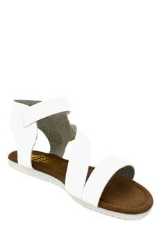 Desire By Jacobies June Angled Sandal