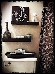 Image result for using open wall cabinets in bathrooms