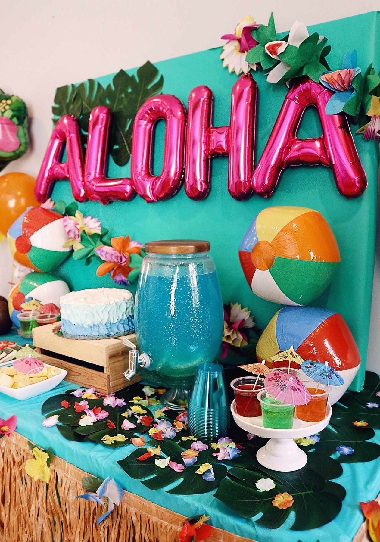 Moana Themed Party - Chanel Moving Forward #hawaiianluauparty
