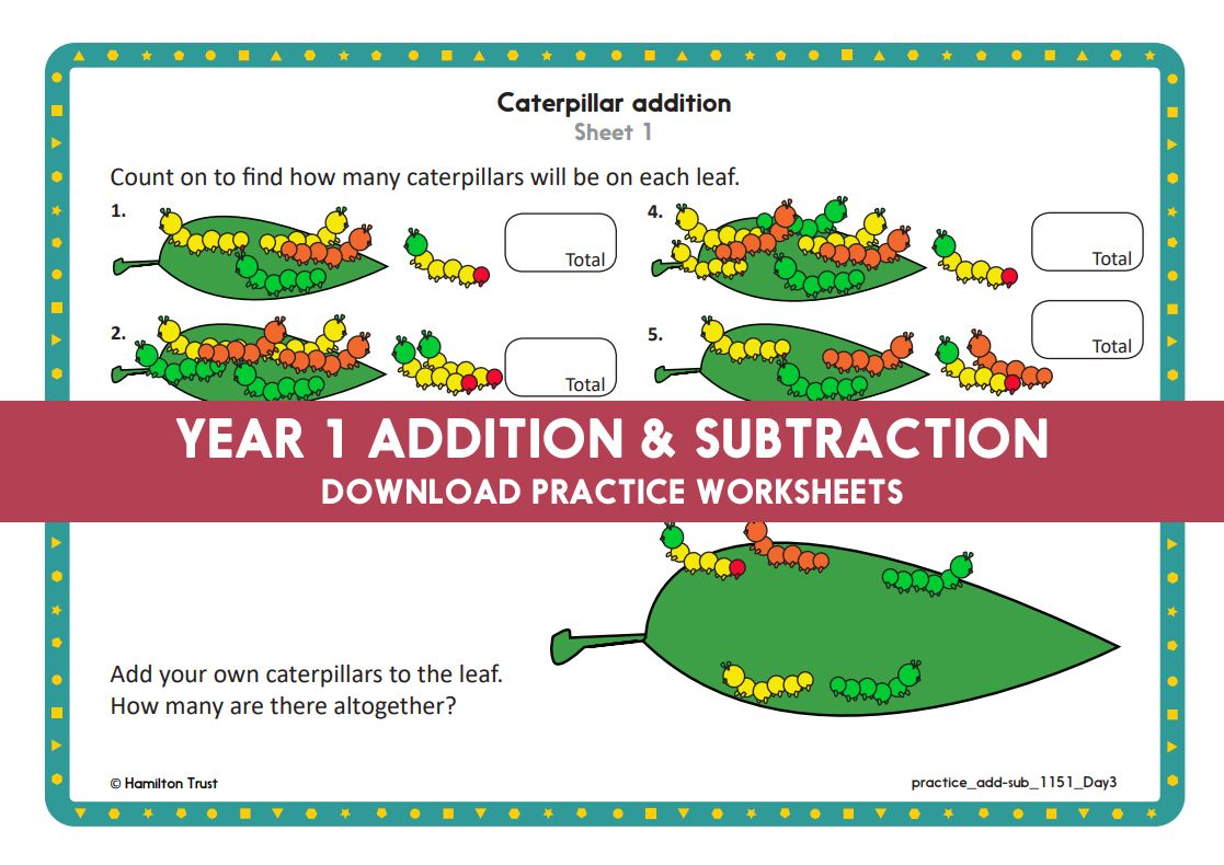 Year 1 Maths Addition Amp Subtraction