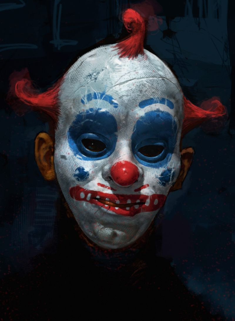 John Wayne Gacy - Painting of his alter ego - Pogo The Clown & the ...