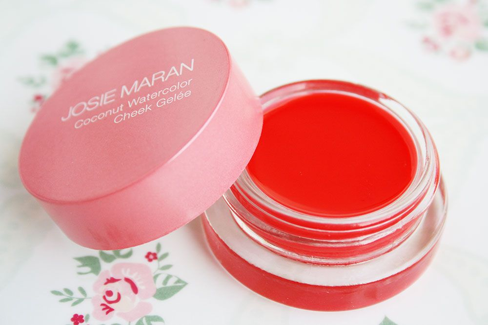 Josie Maran Cheek Gelee Review Cruelty Free Kitty Josie Maran