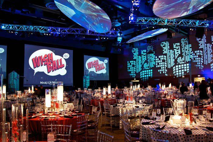 Superhero Backdrop Stage Superhero Themed Party Planner