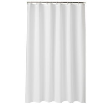 Home Classics Embossed Fabric Shower Curtain Liner Fabric