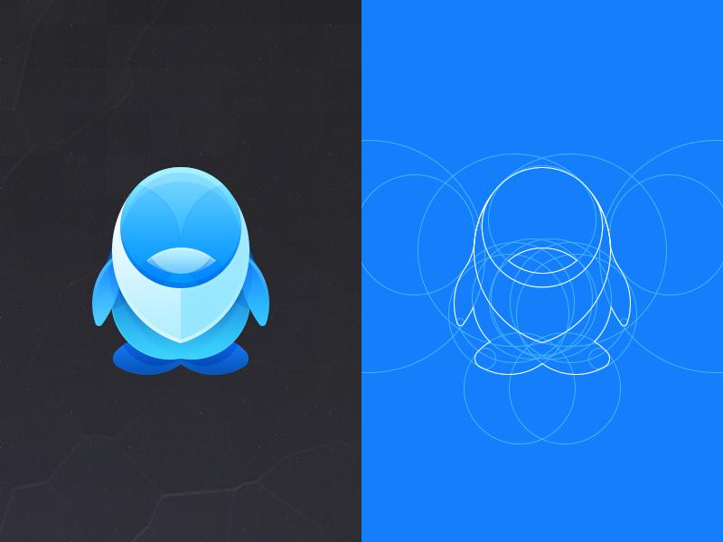 Qq Sns Icon Design Logo Inspiration Logo Design