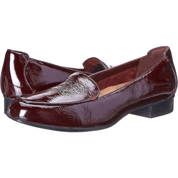 Womens Shoes Clarks Keesha Luca Burgundy Patent Leather