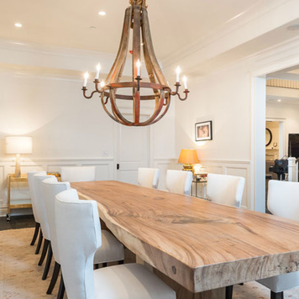Large Table Dining In 2020 Country Dining Rooms Large Dining