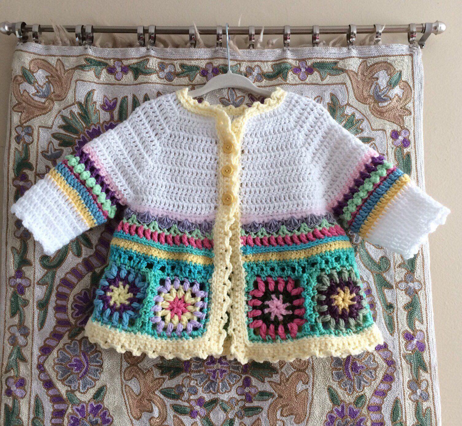 #crochetbabycardigan