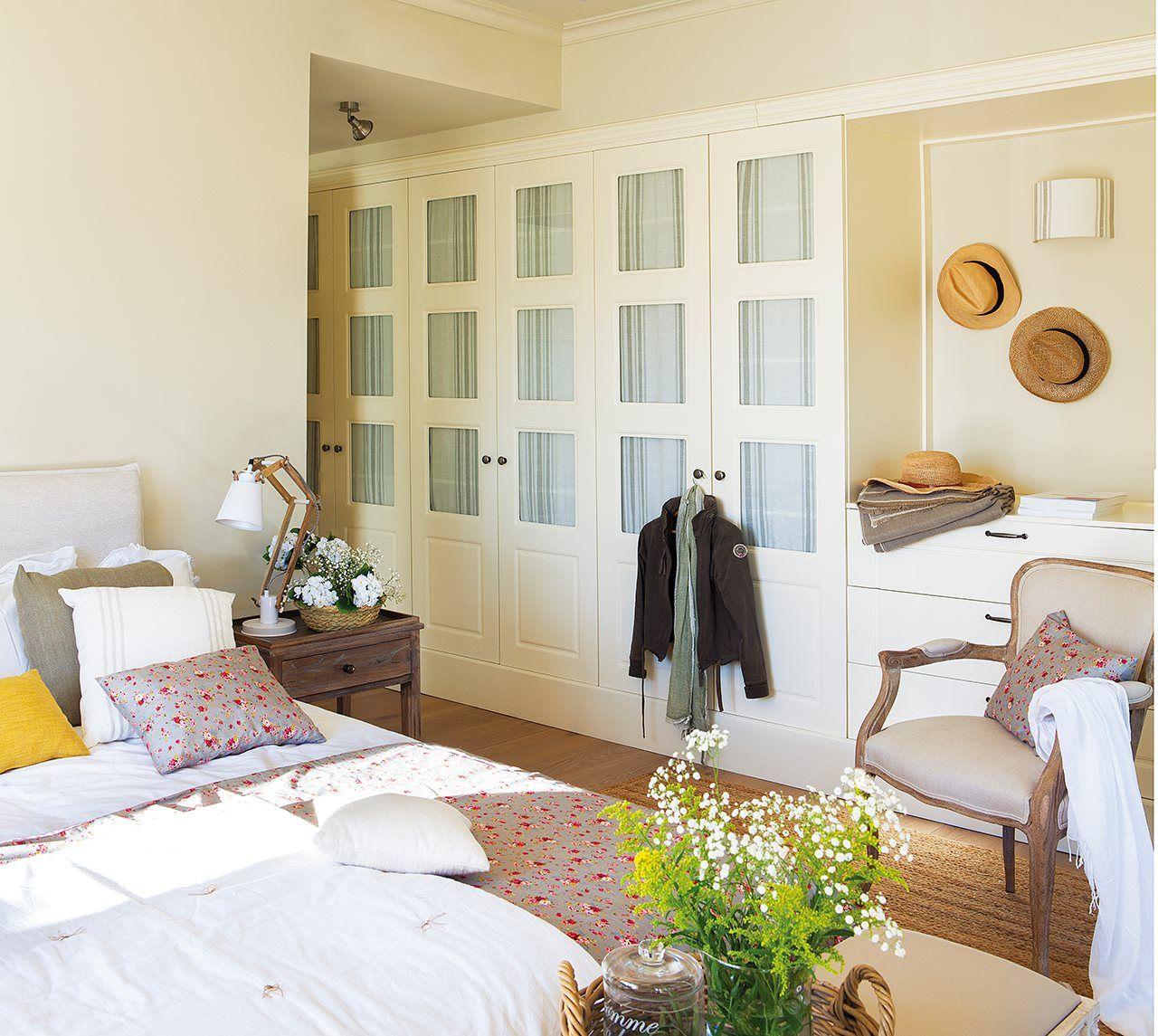 Vestidor integrado casa vaguadas pinterest vestidor for Armarios habitacion matrimonio