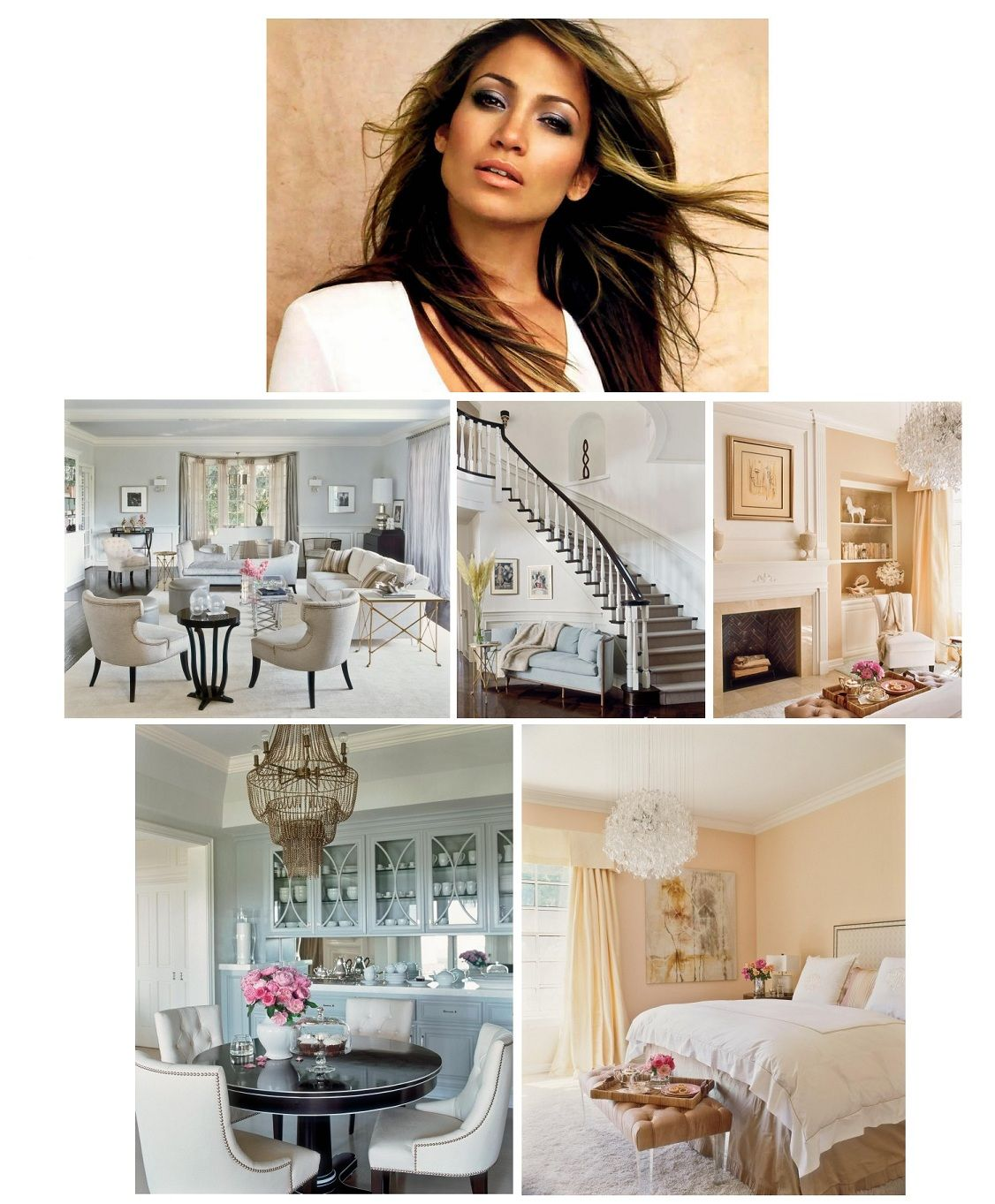 Jennifer Lopez Home Decor This Is Definitely Far From Jenny From The Block Celebrity Houses Home Interior Design Luxury Home Decor