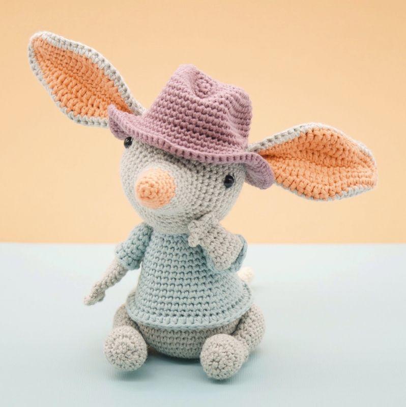 William the Bilby amigurumi pattern by LittleAquaGirl ...