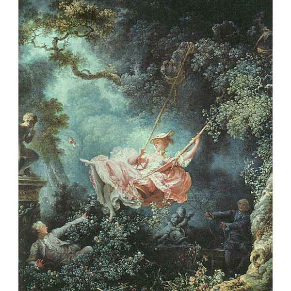 Oil Paintingsthe Swing 1766 By Jean Honore Fragonard Liked On