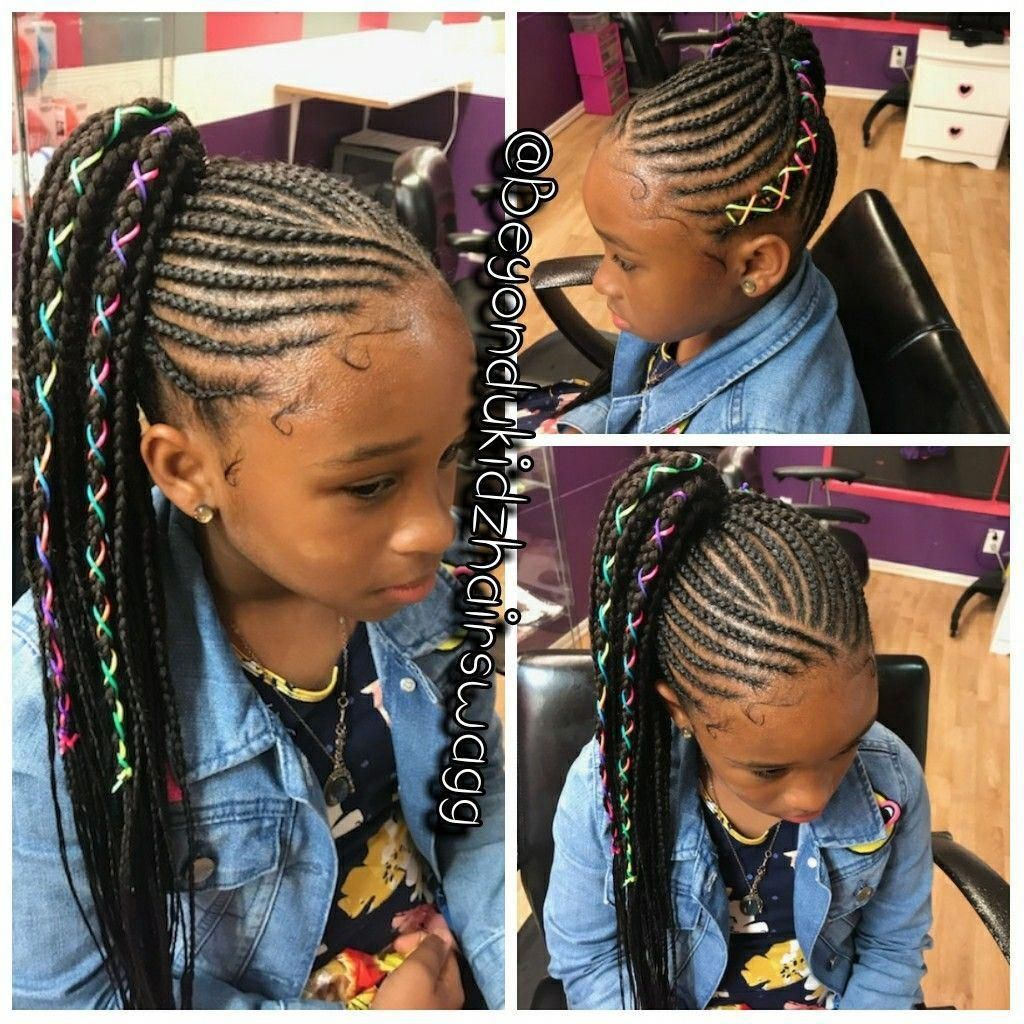 Cute for KK #Naturalhairstyles  Lil girl hairstyles, Braids for