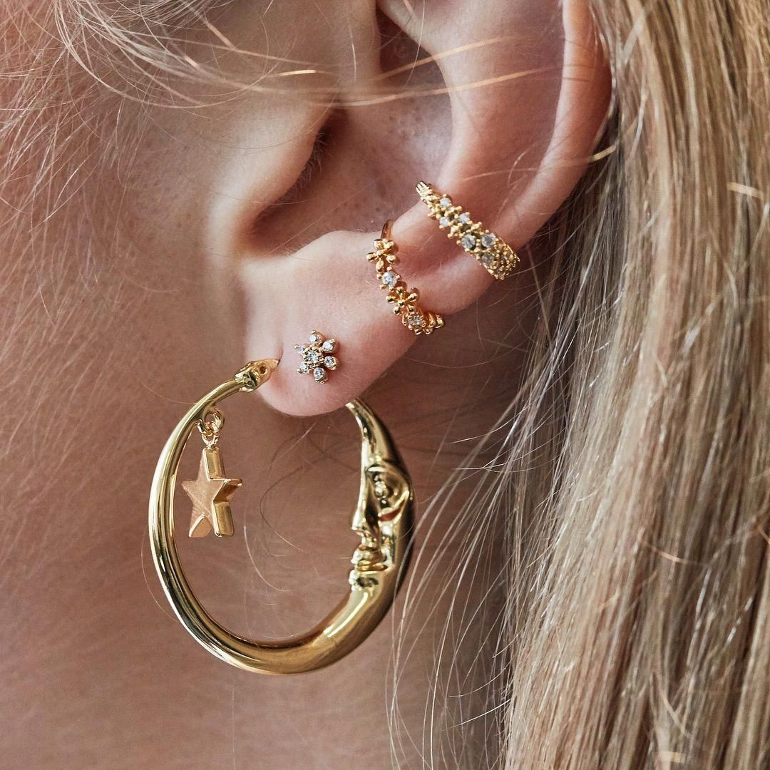 The V Collection Earrings Party wear Dangling Pearl Gold Plated Earrings Fashion Jewelry Earrings for Women and Girls