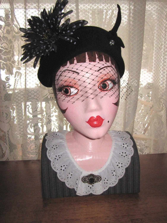 Decorative Vintage Style Mannequin Display