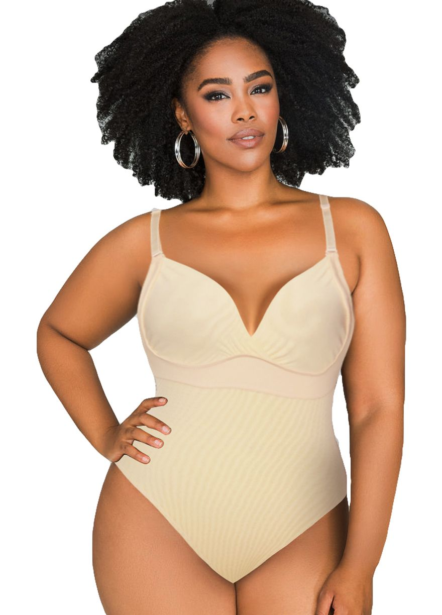 0f13272598d Adjustable Thin Straps Slimming Body Thong Shaper Body  Shaper Shapewear Sexy Lingeire