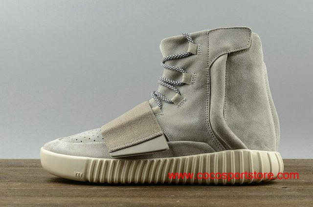 Adidas Yeezy Boost 750 Grey B35039 Suede Top Shoes For Women