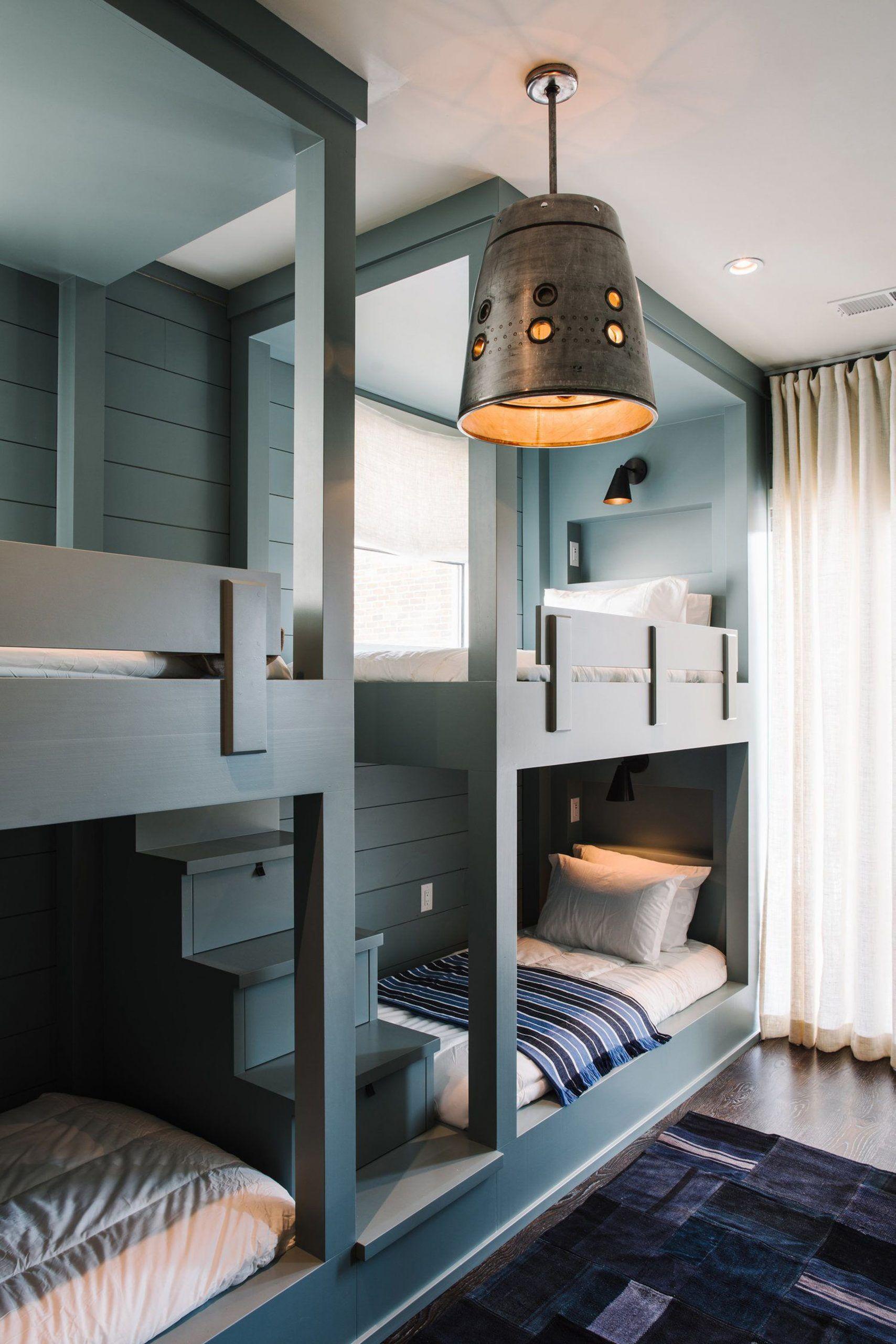4 Bed Bunk Bed 2020 in 2020 Bunk beds built in, Built in