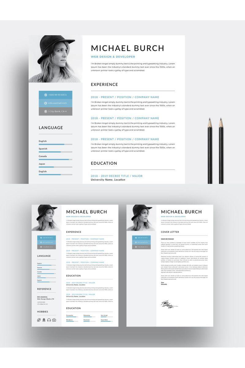Creative minimal resume template 99750 ad minimal
