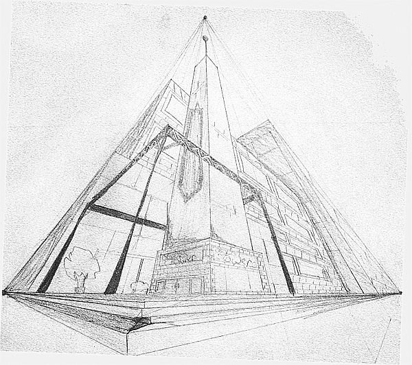 3 point perspective - Google Search | art | Pinterest ...