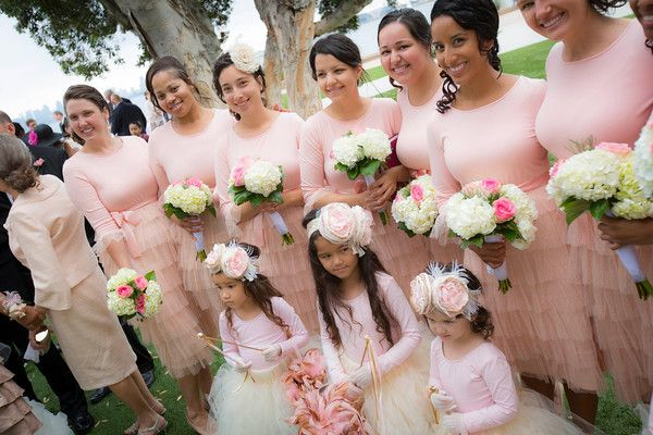 Modest Bridesmaids Dresses. Photography By Thia