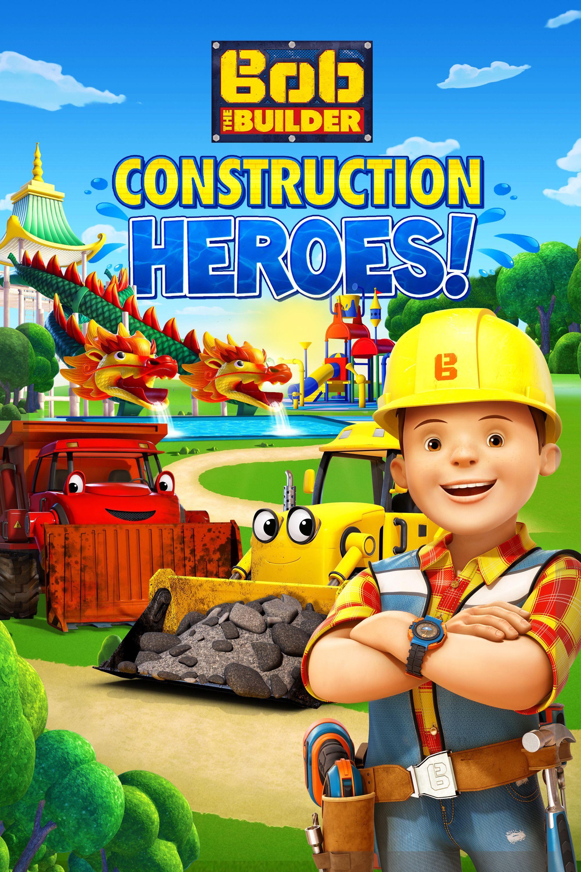 Bob the builder live online dvd rental - Bob The Builder Construction Heroes Movie Poster Colin Murdock Claire Corlett