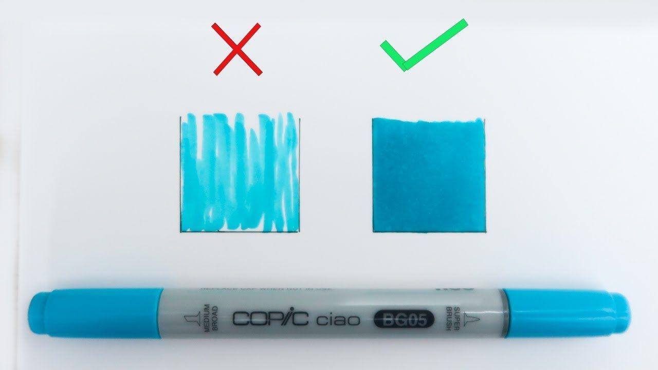 Colorier Comme Un Pro Comment Utiliser Les Feutres A Alcool Copic Marker Youtube Feutres Alcool Copic Marker Art Comment Faire Un Degrade