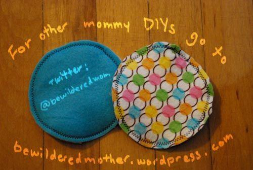 Mommy DIY: Nursing Pads