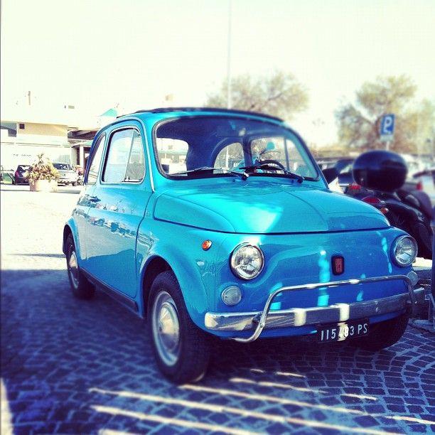 #FIAT #500 #Blu #Azzurra