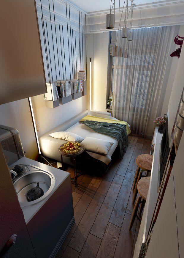 Zdjęcie numer 8 w galerii - Małe mieszkanie w dobrym stylu - 15 m kw
