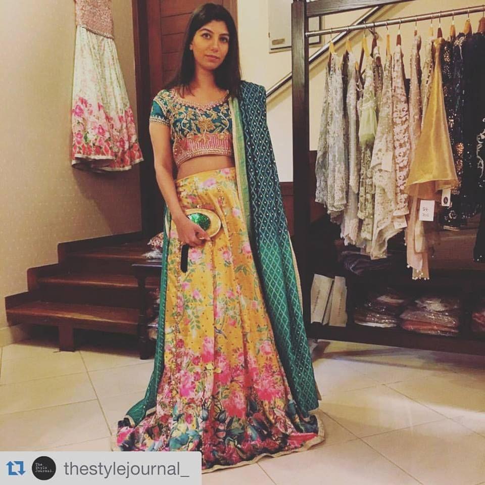 Pink dress to wear to a wedding  Farah Talib Aziz Pakistani couture  Mehndi  Mayun dresses