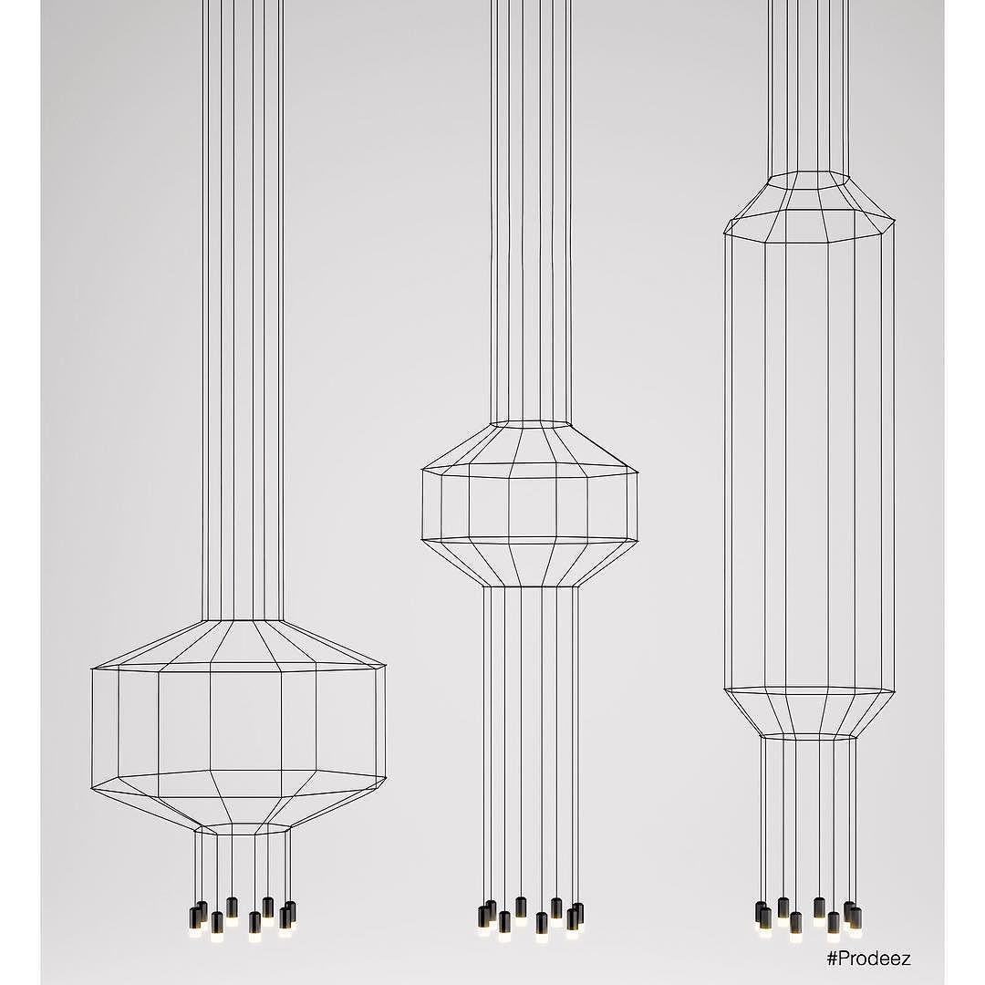 From Prodeez Product Design: Wireflow by Arik Levy for Vibia. #furniture #light #minimal #creative #design #ideas #designer #ariklevy #interior #art #interiordesign #product #productdesign #instadesign #furnituredesign #prodeez #industrialdesign #metal #architecture #style