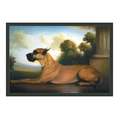 Buyenlarge Recumbent Great Dane Canvas Art