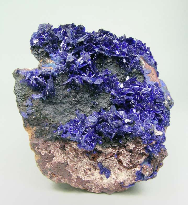 Mineral Pictures And Names | Azurita Mineral Specimen - Large Photo - Fabre Minerals