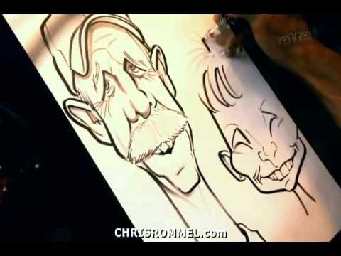 Chris Rommel's Caricature Lesson