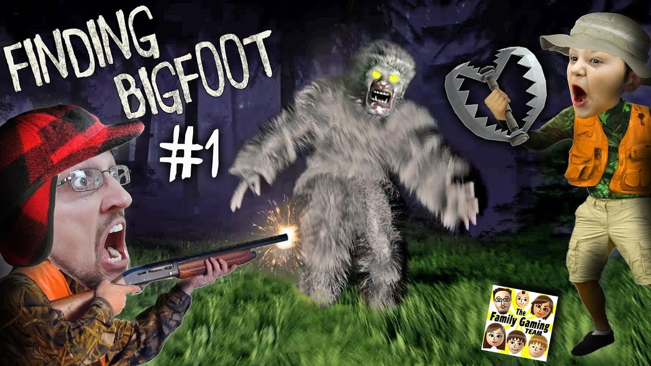 Finding Bigfoot Game Caught On Tape By Fgteev Mission Catch