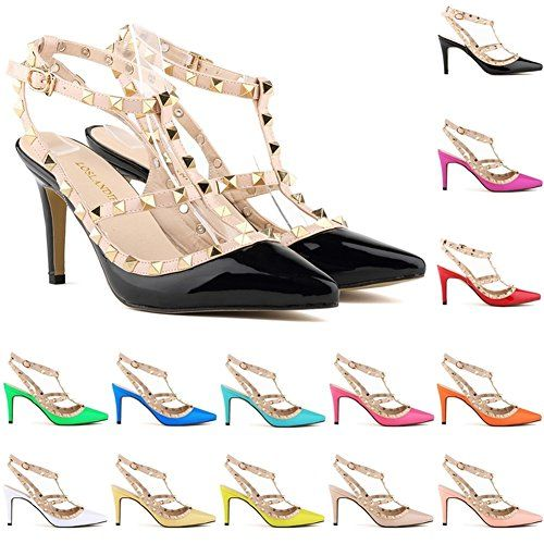 9613f1ae48d6 Loslandifen Ladies High Heels Party Wedding Count Pump Shoes     Click on  the image for additional details. (This is an Amazon affiliate link)