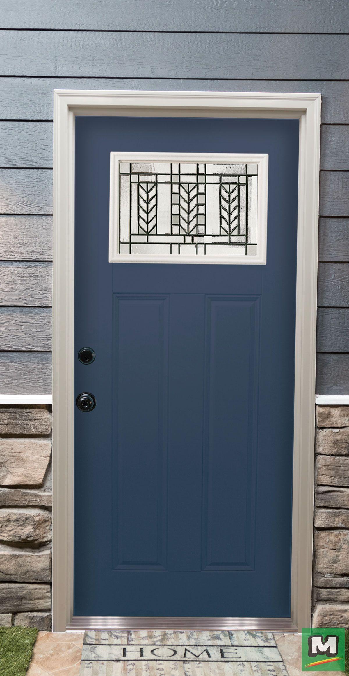 This Attractive Mastercraft Door Features The Morrison Series