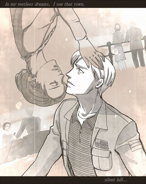 Mary x James ---- Silent Hill 2