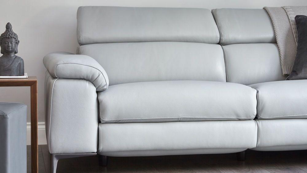 Wren 3 Seater Leather Recliner Sofa