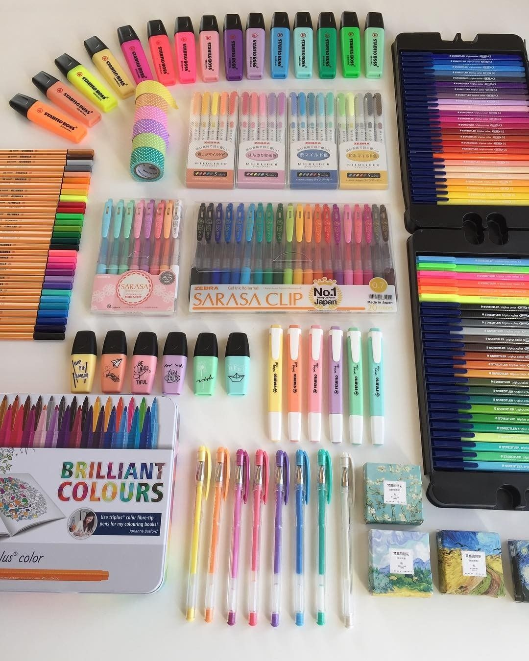 Shop gel pens highlighters brush pens and more stationery by clicking link cr berkansblog