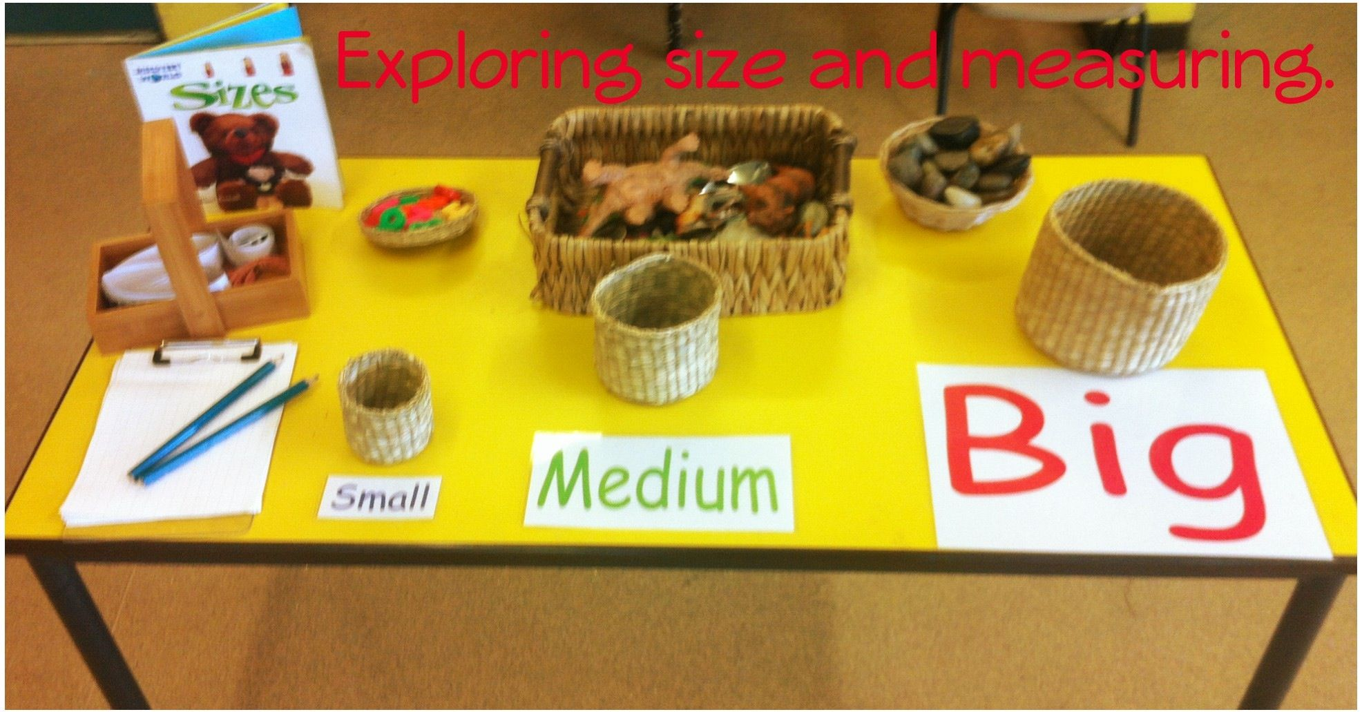 Exploring Size And Measuring