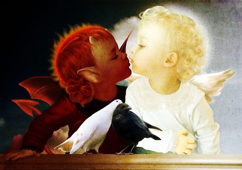 imp and the angel...Good Girls Love Bad Boys!